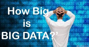 how big is big data
