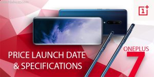 Oneplus 7 price specifications and launch date in India