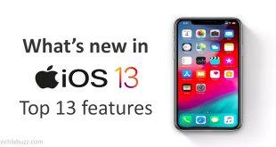 Top 13 Biggest iOS 13 Features