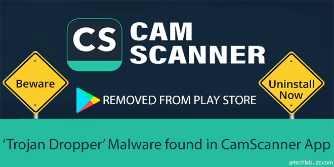Malware detected in CamScanner app