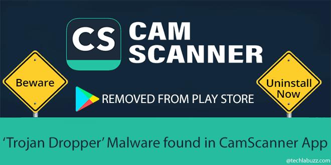 Malware detected in CamScanner app