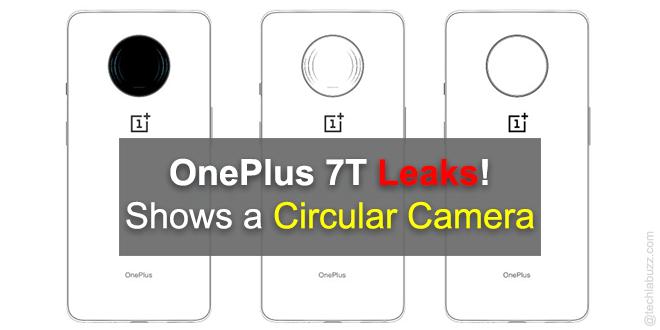 OnePlus 7T leak shows a circular camera module