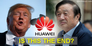 President Trump doesn't 'want to do business at all' with Huawei