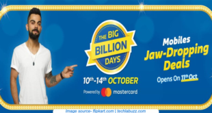 Flipkart big billion day mobile offers 2019