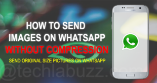 Send pictures without losing quality WhatsApp Android
