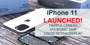 Apple iPhone 11 Launched with Dual Rear Cameras, Apple A13 Bionic SoC, Liquid Retina Display: Price, Specifications