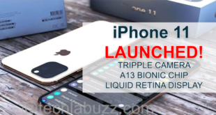 iPhone 11 Launched with Dual Rear Cameras, Apple A13 Bionic SoC, Liquid Retina Display: Price, Specifications