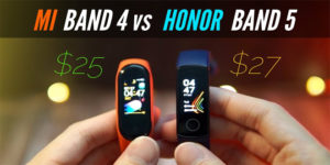 Mi Band 4 vs Honor Band 5 which one to buy