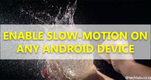 How To Enable Slow Motion Video in Android Device