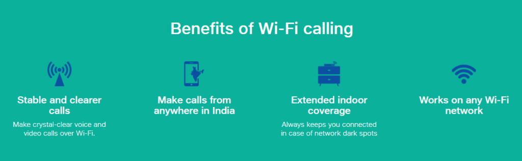 WiFi Calling on Jio and Airtel