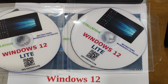 Windows 12 Lite OS Linux Distribution 64bit ISO