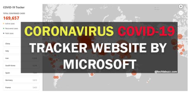 coronavirus tracket